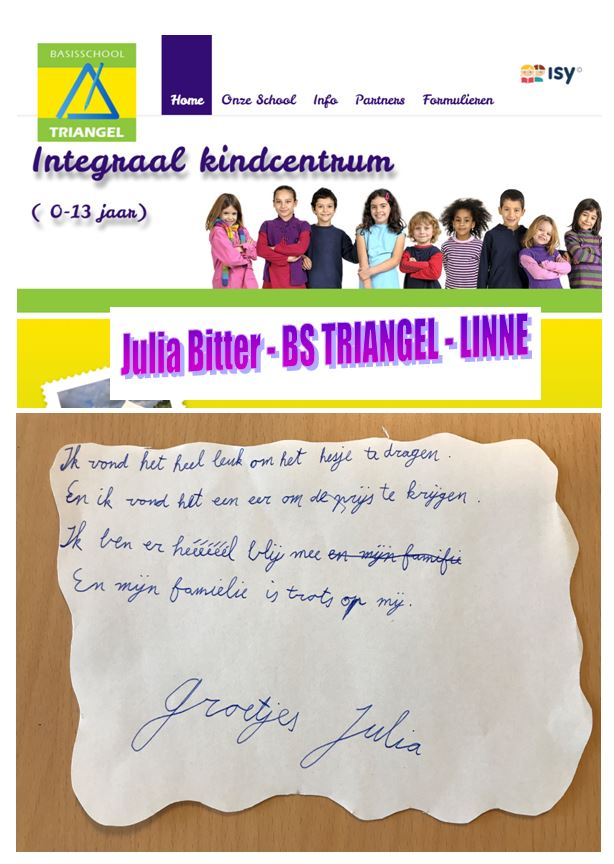 Julia Bitter Triangel Linne