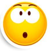 emoji gezicht rd verbaasd niet blij