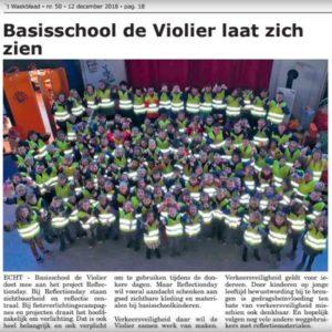 Violier weekblad Echt RD reflectionday